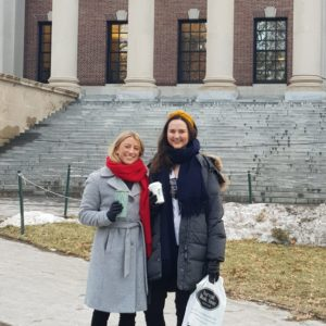 Ingrid and Martine is writing their master thesis in Boston about how entrepreneurs use their network and experience to acquire equity financing.