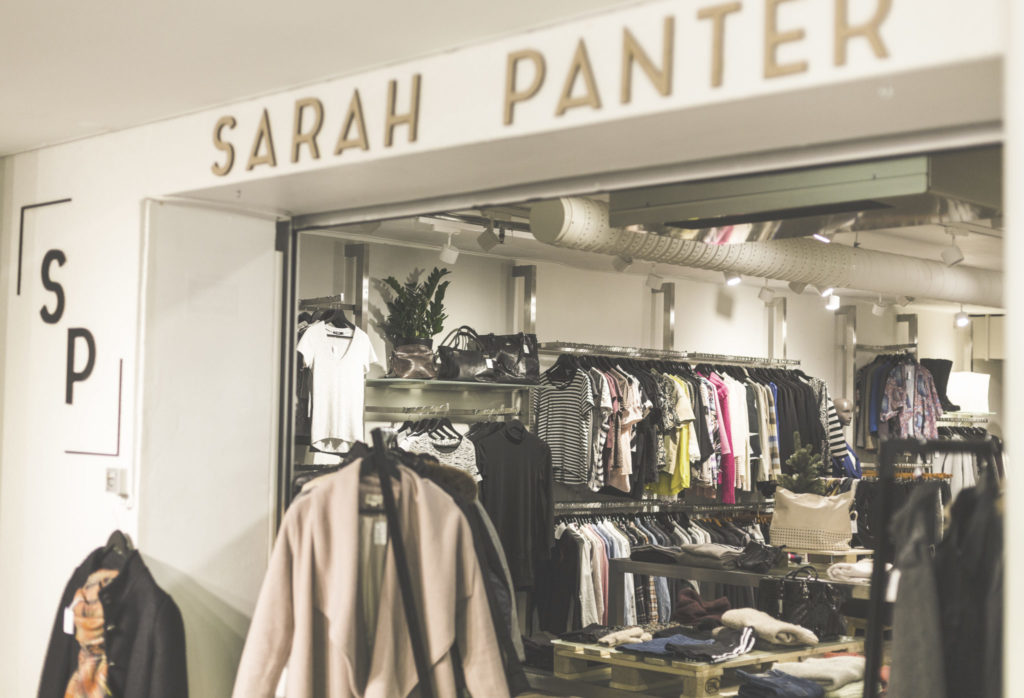Sarah Panter is a second-hand store targeting young people. Photo: Katarzyna Marie Wie