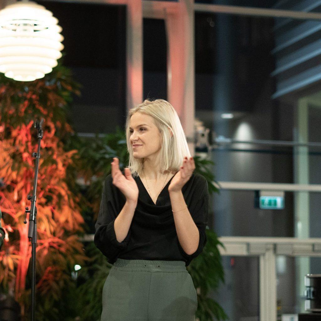 Selma Selbæk is one of the engines behind Kvinneprojektet.