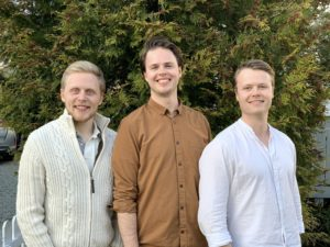 Henning, Marcus and Vidar