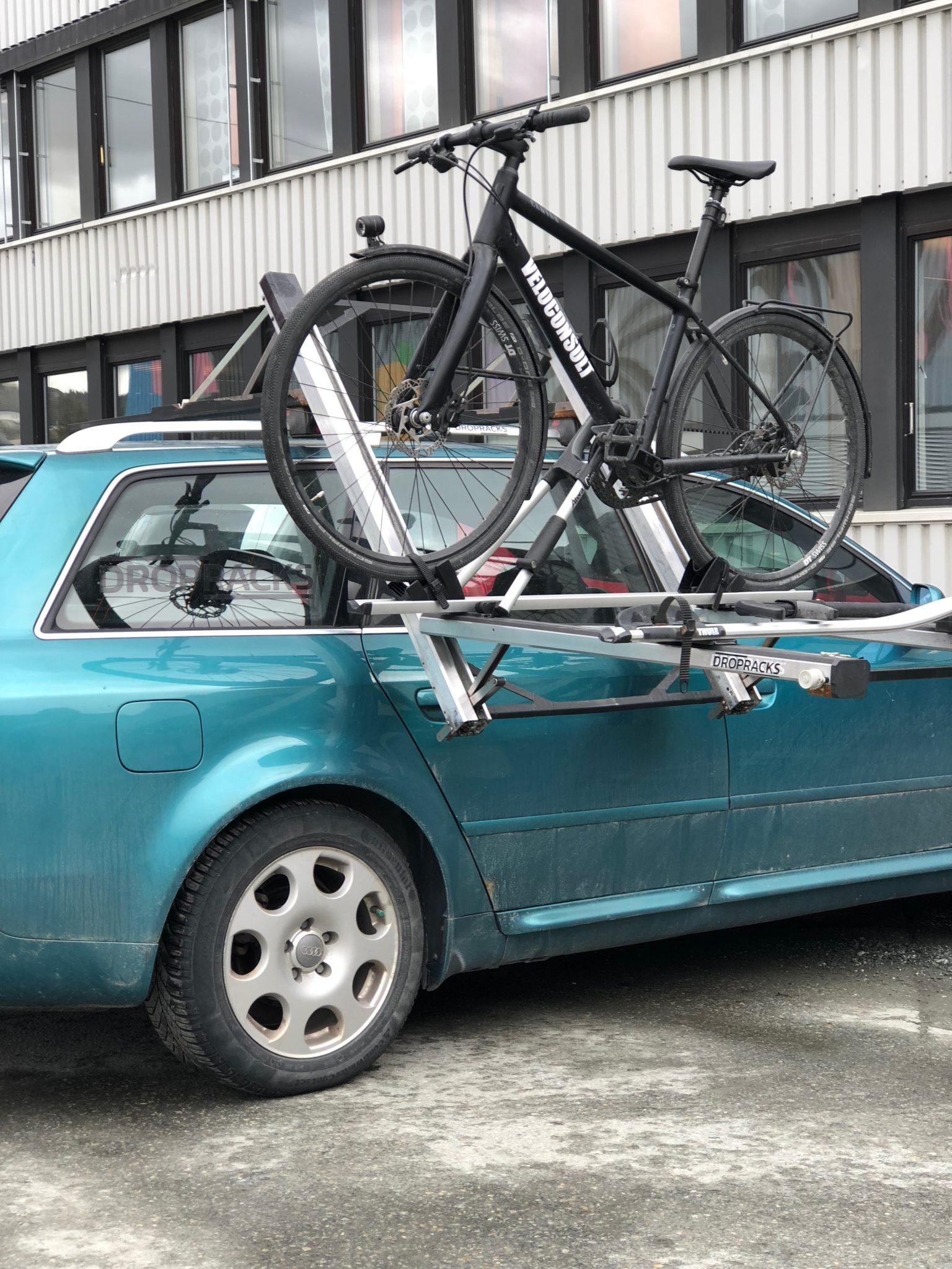 Bike in reachable height