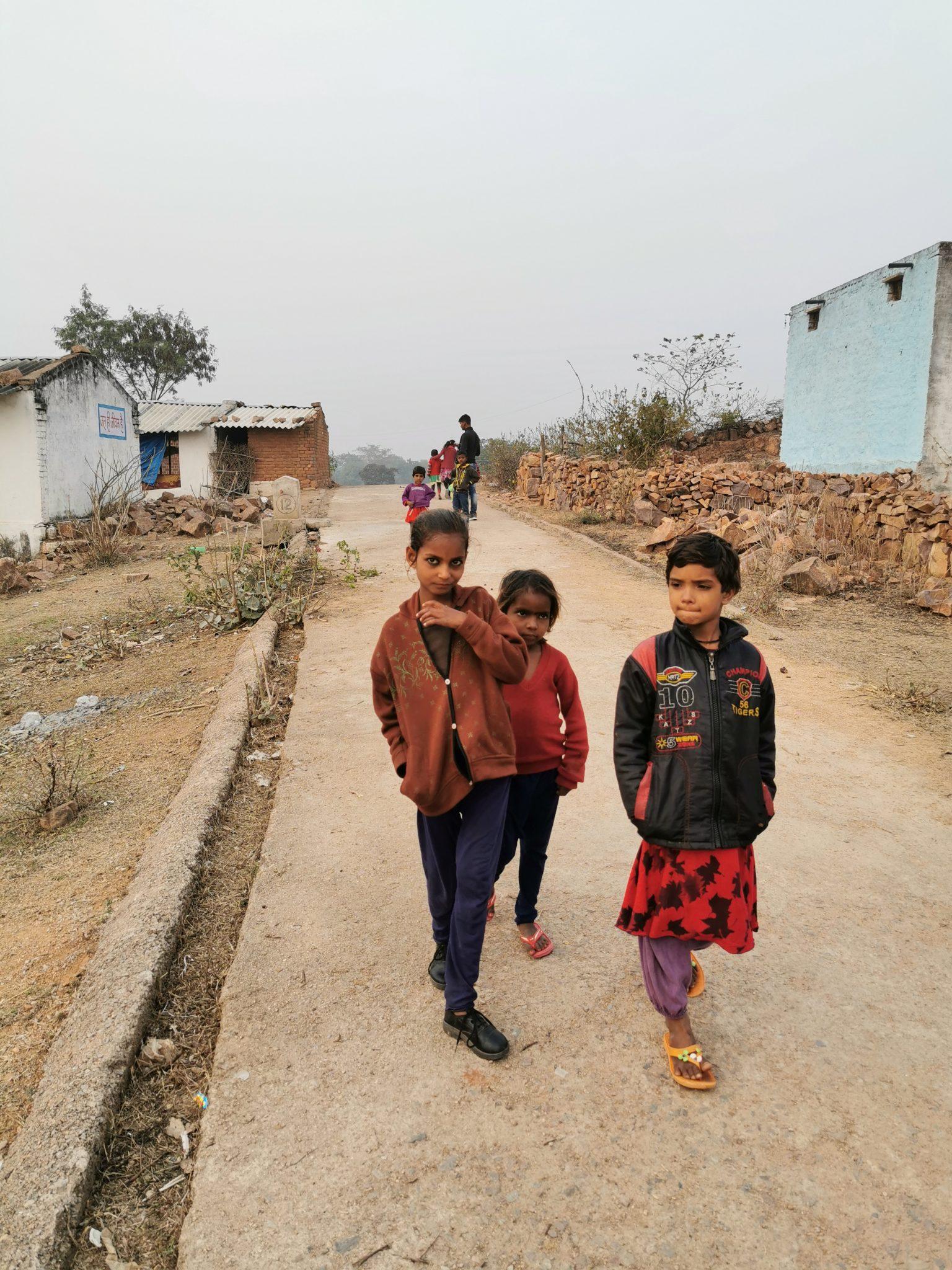 Locals in India