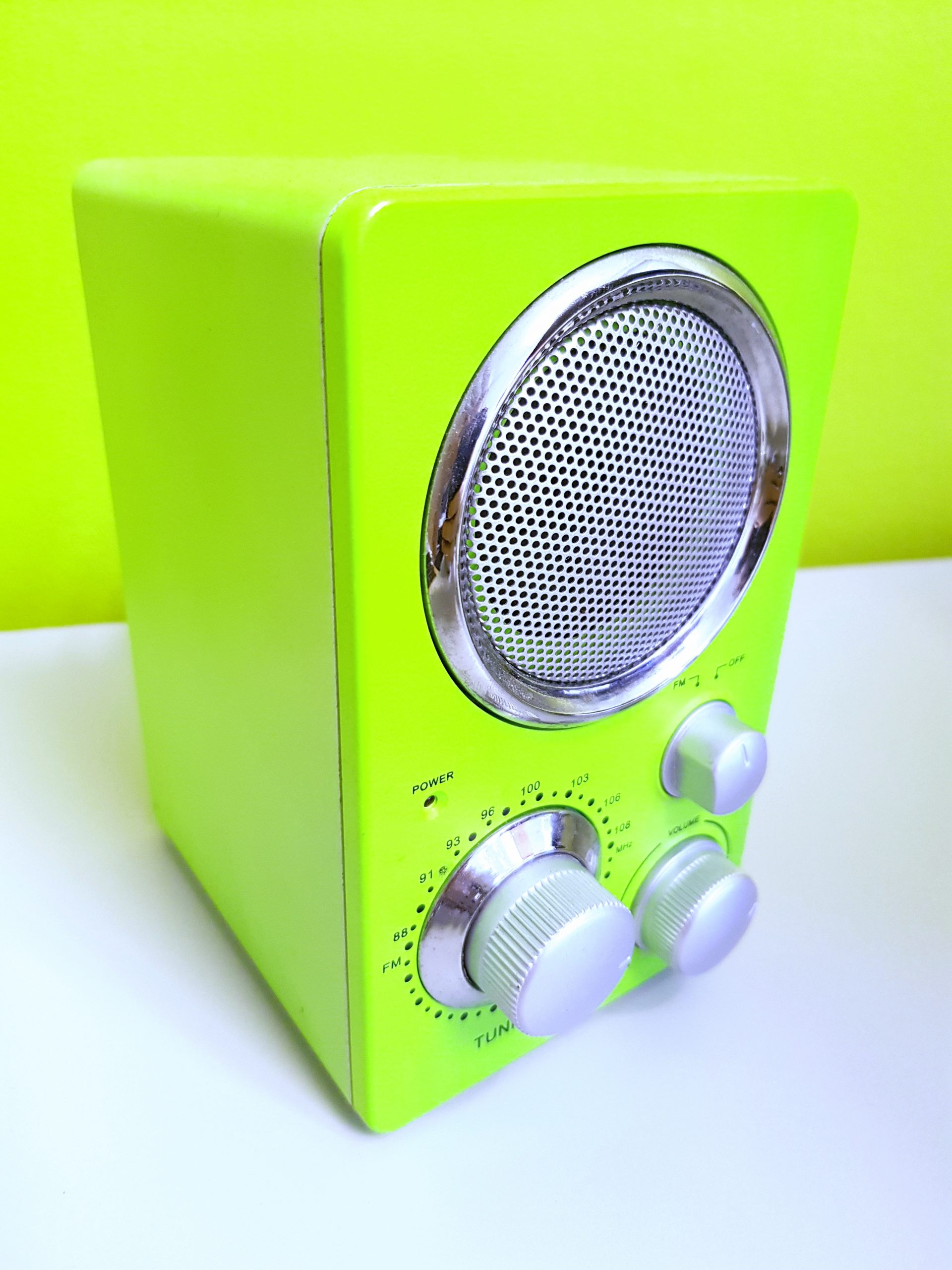 Green Item looking like radio